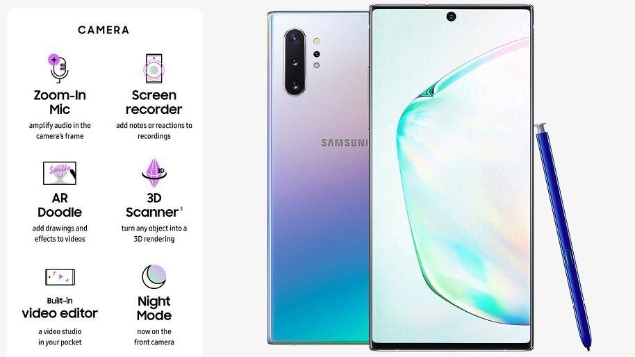 1611058529 929 Dien thoai Samsung Galaxy Note 10 8GB RAM 256GB