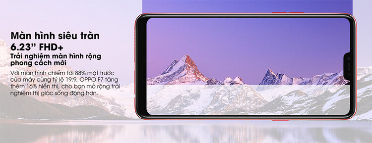 Điện thoại Oppo F7 Red