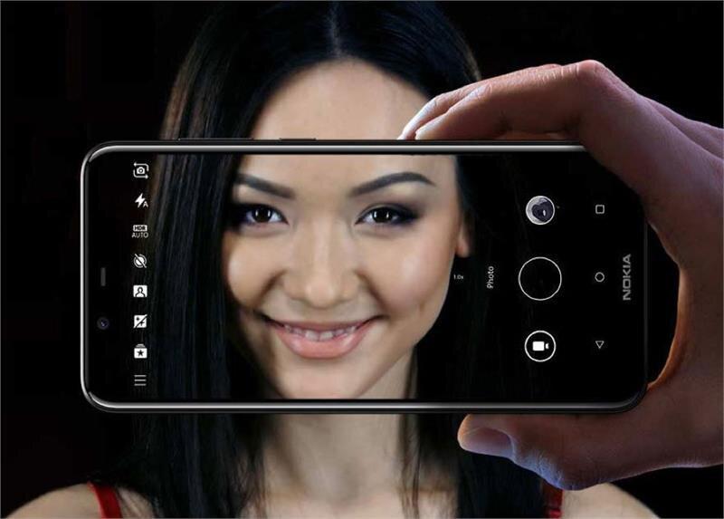 Điện thoại Nokia 5.1 Plus Blue