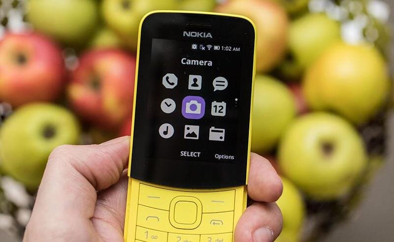Điện thoại Nokia 8110 4G Black