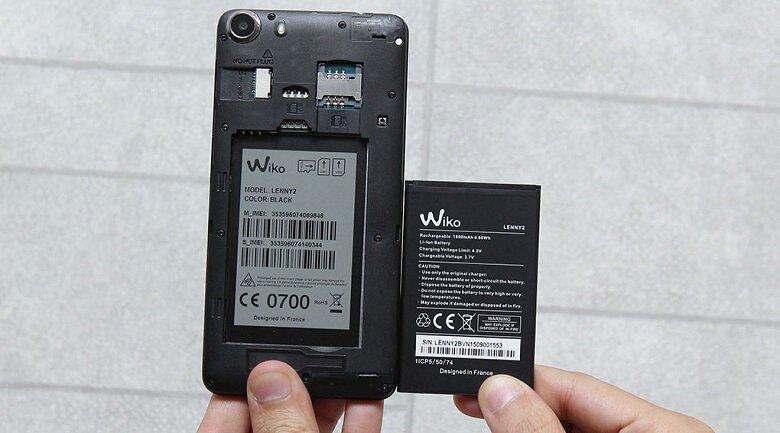 Điện thoại Wiko Lenny 2