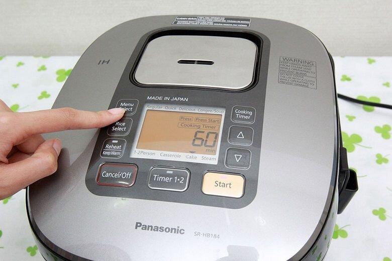 Nồi cơm cao tần Panasonic 1.8 lít SR-HB184KRA