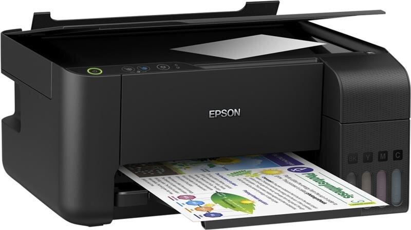 Máy in phun màu epson L3110 (In,scan,copy)