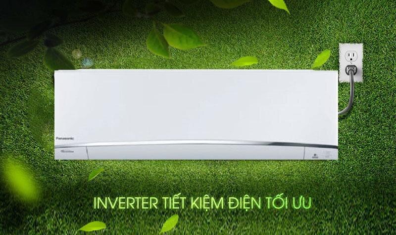 Điều hòa Panasonic 1 chiều inverter XU12UKH-8 12.000BTU