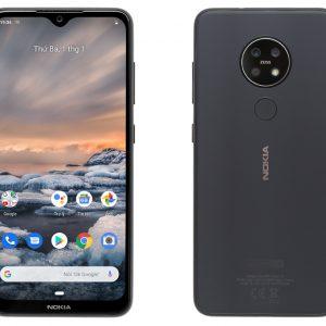 Điện thoại Nokia 7.2 – 4GB RAM, 64GB, 6.3 inch