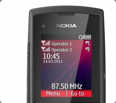 Điện thoại Nokia X1-01