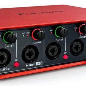 Souncard thu âm Focusrite Scarlett 18i8 Audio Interface