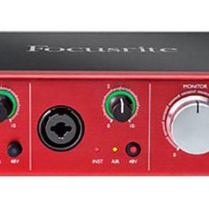 Sound card Focusrite Clarlett 2Pre