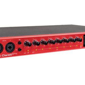 Sound card Focusrite Clarlett 8Pre