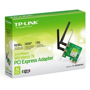 TP-Link 300Mbps Wireless N PCI Adapter TL-WN851N
