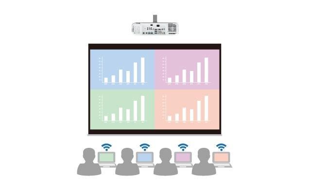 Máy chiếu Panasonic PT-LB353-LCD - option Wireless - Hàng chính hãng phải có phiếu bảo hành chính hãng