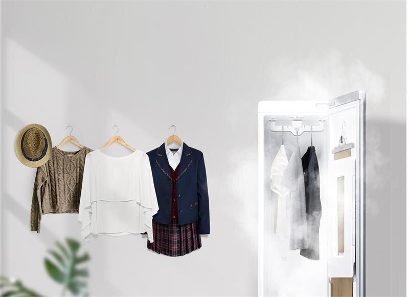 Tủ chăm sóc quần áo thông minh LG Styler S3RF (Nâu Cà phê)