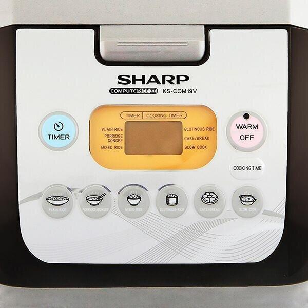 Nồi cơm điện tử 1.8L SHARP KS-COM19V
