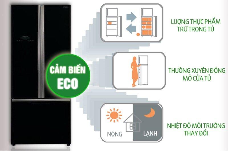 Tủ lạnh Hitachi 429 lít R-WB545PGV2