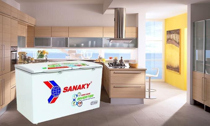 Tủ đông Sanaky 360L Inverter VH-3699A3