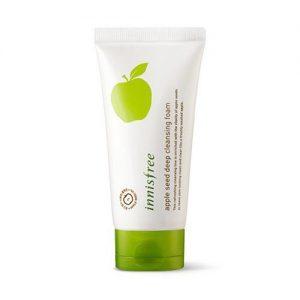 Sữa rửa mặt Innisfree apple seed dee cleansing foam 150ml