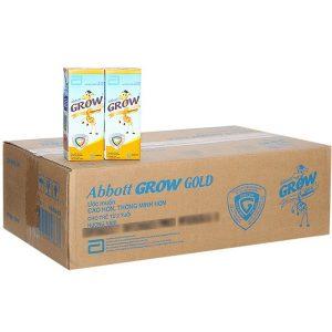 Sữa bột pha sẵn Abbott Grow Gold 180ml – thùng 48 hộp