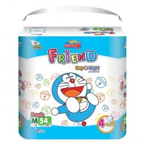 Bỉm – Tã quần Goon Friend size M – 54 miếng (cho bé 7 – 12kg)
