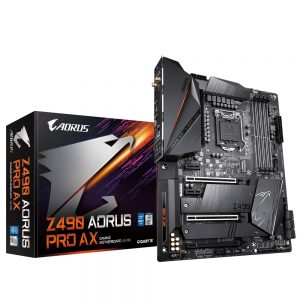 Bo mạch chủ – Mainboard Gigabyte Z490 Aorus PRo AX