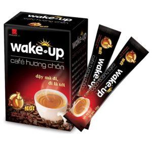 Cà phê hương chồn Wake-Up – Hộp 18 Gói x 17gr