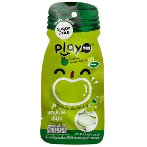 Kẹo the vị táo xanh Play More gói 12g