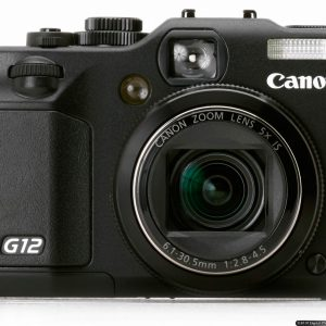 Máy ảnh kỹ thuật số Canon PowerShot G12 – 16.1 MP