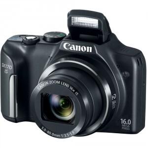 Máy ảnh kỹ thuật số Canon PowerShot SX170IS (SX170 IS) – 16 MP