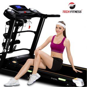Máy tập chạy bộ điện đa năng Tech Fitness TF-07AS