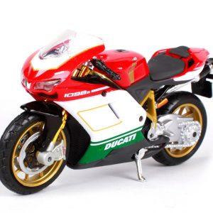 Mô hình xe mô tô Ducati 1098s 1:18 Maisto