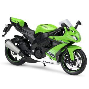 Mô hình xe mô tô Kawasaki Ninja ZX-10R 1:12 Maisto
