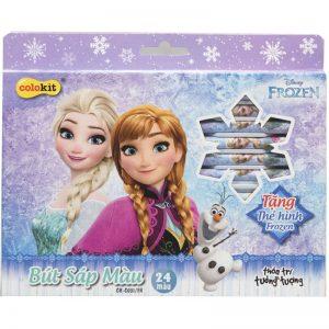 Sáp màu Colokit Disney Frozen CR-C031/FR – 24 màu