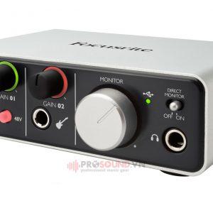 Sound Card Focusrite iTrack Solo Lightning