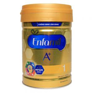 Sữa bột Enfamil A+ 1 DHA+ và MFGM Pro 870g (0 – 6 tháng)