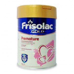 Sữa bột Frisolac Gold Premature – hộp 400g (dành cho trẻ sinh non, nhẹ cân)