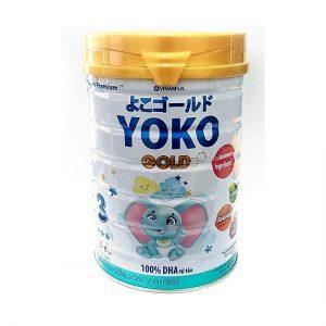 Sữa bột Vinamilk Yoko Gold 3 lon 850g (cho trẻ từ 2 – 6 tuổi)