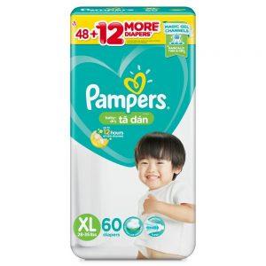 Tã dán Pampers nhập khẩu L 68 miếng