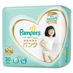 Tã quần Pampers Nhật Bản new (XL, 12-22kg, 30 miếng)
