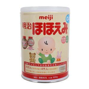 Sữa bột Meiji số 0 – hộp 800g (dành cho trẻ từ 0 – 1 tuổi)