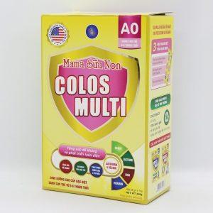 Mama sữa non Colos Multi A0 – 350g (dành cho trẻ từ 0-6 tháng tuổi)