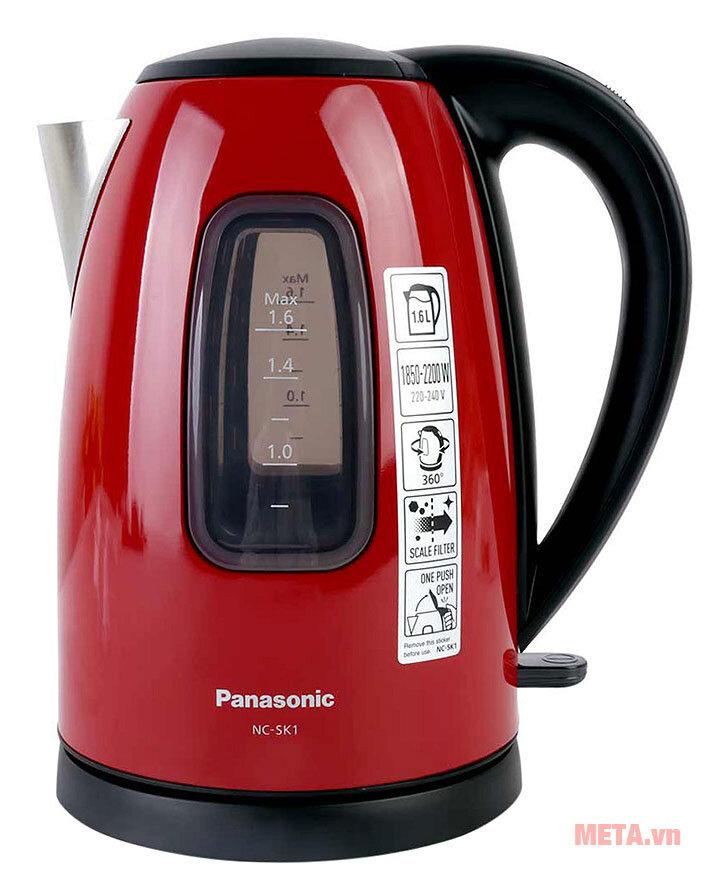 Ấm siêu tốc Panasonic PAAD-NC-SK1RRA 1.6 lít
