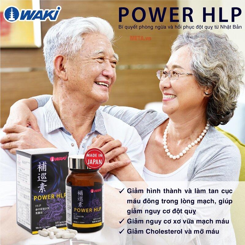 Power HLP - Viên uống hỗ trợ