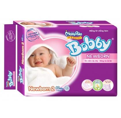 1627000926 Mieng lot Bobby Fresh Newborn 2 60 mieng tre tu