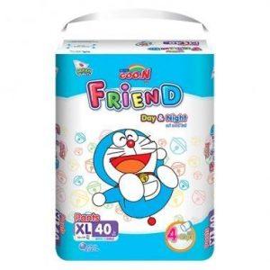 Bỉm – Tã quần Goon Friend size XL – 40 miếng (cho bé 12 – 17kg)