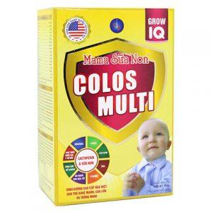 Mama sữa non Colos Muti Grow IQ – 352g (dinh dưỡng cho trẻ khỏe mạnh, cao lớn)