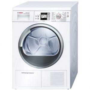 Máy sấy quần áo Bosch WTS86515BY – Lồng ngang, 8 Kg