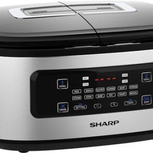 Nồi cơm điện Sharp KN-TC50VN – 2 ngăn nấu, 1.8 lít