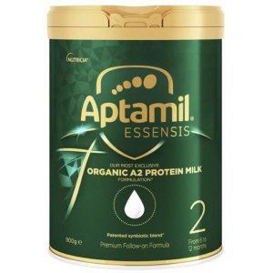 Sữa Aptamil Essensis Organic số 2 hộp 900g