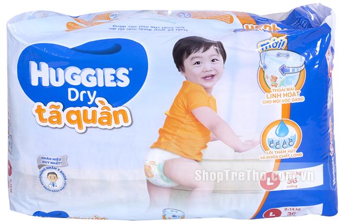 Ta bim quan Huggies Dry Jumbo L36 9 14kg