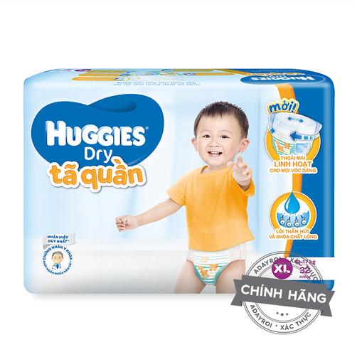Ta bim quan Huggies Dry Jumbo XL32