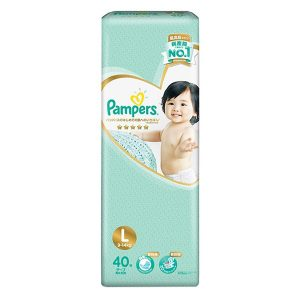 Tã dán Pampers Nhật Bản new (L, 40 miếng)